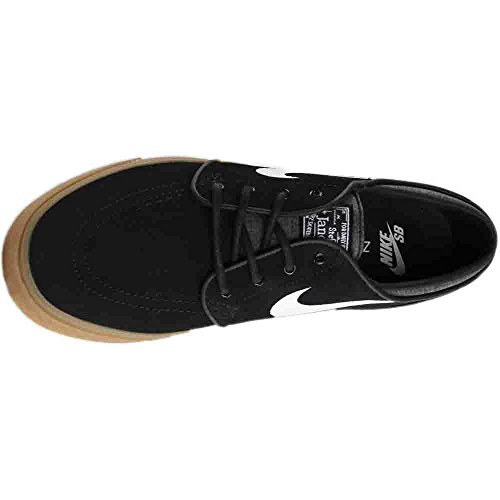Boys Black White Gum Light NIKE Shoes Brown Skateboarding Black 021 xpfdvH