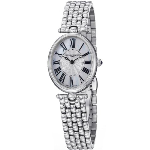 Frederique Constant Women's FC200MPW2V6B Art Deco Stainless Steel Watch ()