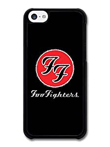 MMZ DIY PHONE CASEFoo Fighters Red Logo Black Background case for iphone 6 4.7 inch