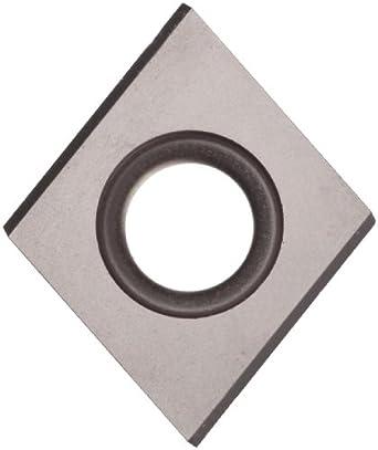 "Sandvik Coromant T-MAX SCREW CLAMP  Carbide Milling Insert, 009370 Style, Diamond, H13A Grade, Uncoated, 009370R9,0.187"" Thick, 0.027"" Corner Radius (Pack of 10)"