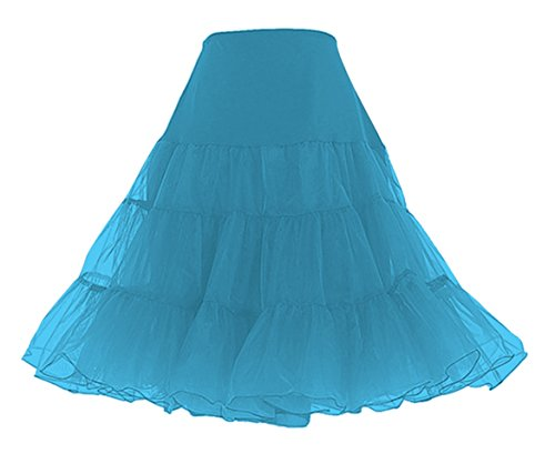 Lindy Hop Dress Costume (Petticoat Crinoline. Great petticoat skirt for poodle skirts, Petticoat dresses, Vintage dresses, or as Rockabilly Adult Tutu Skirt. 25