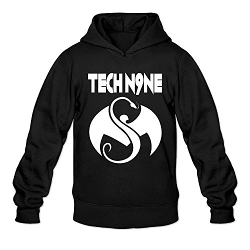 [AK79 Men's Sweater Tech N9ne Face Paint Size L Black] (Elsa Once Upon A Time Costume)