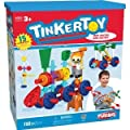 Tinkertoy®, 15 Ideas Transit Plastic Building Set - Item #56539 (Made in the USA)