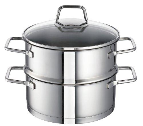 Schulte-Ufer All/Food Steamer Wega, Steam Pot, Stainless Steel 18/10, 20 cm, 00126-20