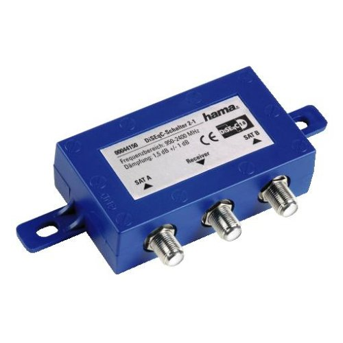 Hama SAT-DiSEqC-Schalter 2 - 1