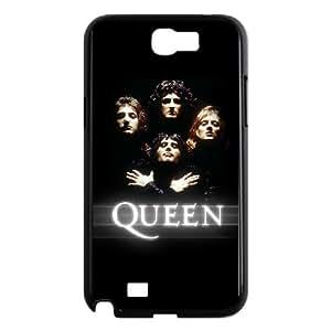 Samsung Galaxy N2 7100 Cell Phone Case Black Queen Band beid