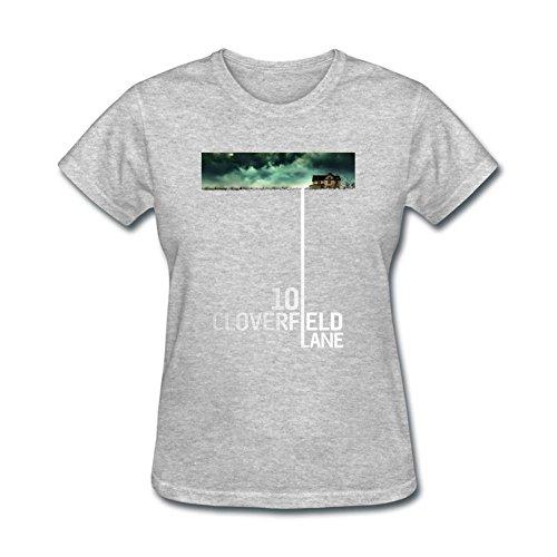 ZHENGXING Women's 10 Cloverfield Lane Logo Short Sleeve T-Shirt XXL ColorName
