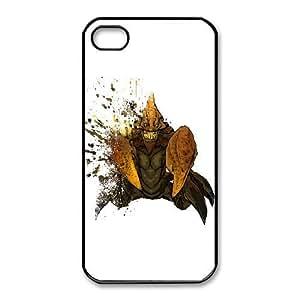 iphone4 4s Black phone case Sand King Dota 2 DOT8686211