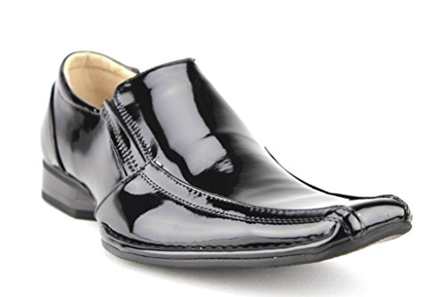Majestic Mens 88263 Classic Squared Toe Loafers Dress Shoes