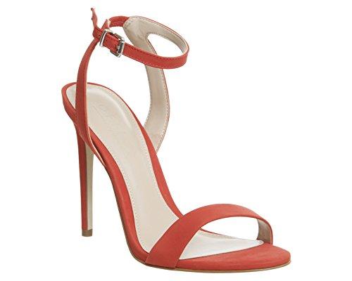 Unbekannt - Zapatos de vestir para mujer Red Nubuck