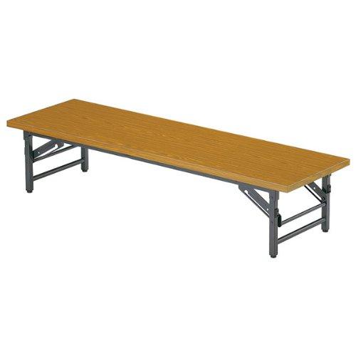 折り畳み机【座卓幅1800×奥行き750mm】 カラー:チーク B00AFJDO22チーク
