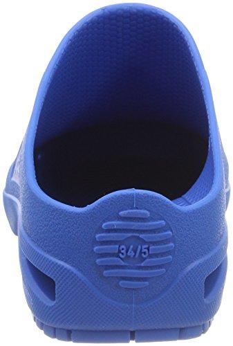 Mixte Sabots Blue 4520310 WOCK Medium Bleu Adulte Bloc 54aWqE
