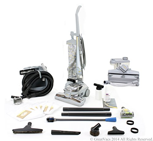 Kirby Ultimate G Vacuum loaded with new GV tools, shampooer, turbo brush, bags (Certified Refurbished)