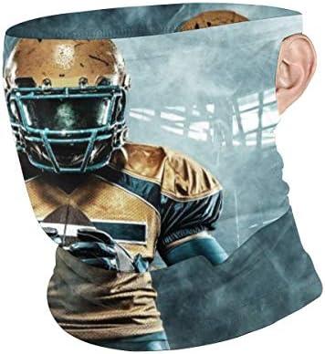 フェイスカバー Uvカット ネックガード 冷感 夏用 日焼け防止 飛沫防止 耳かけタイプ レディース メンズ American Football Sportsman Player