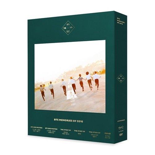 BTS - BTS MEMORIES OF 2016 DVD 4DISC+188p Special Photobook+Photocard