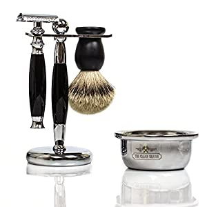 The Clean Shave Finest Wet Shaving Set