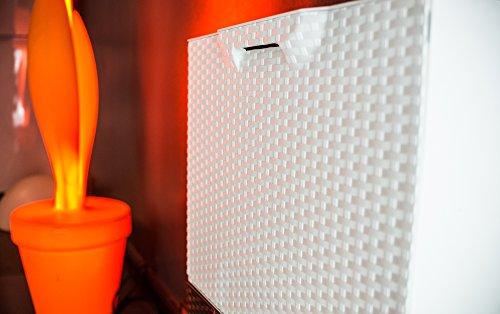 Art plast  - Plástico zapato u50 / frw, efecto ratán, blanco