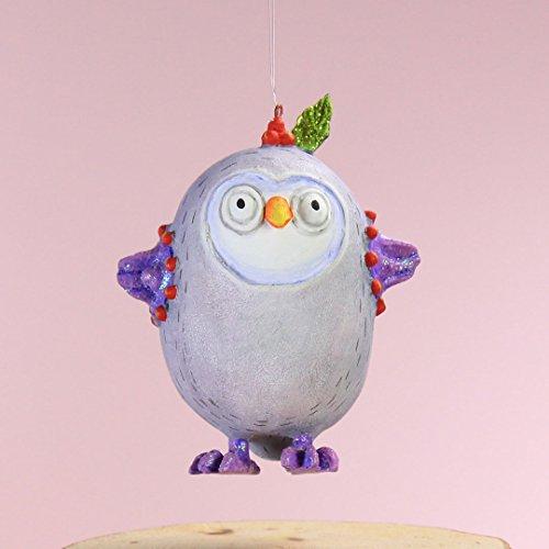 ni Olivia Owl Christmas Figural Ornament #31020 ()