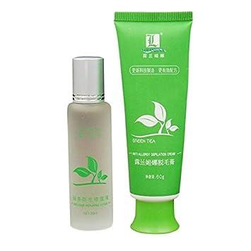 Buy Shoppy Shop Green Tea Fast Permanent Hair Removal Cream Body