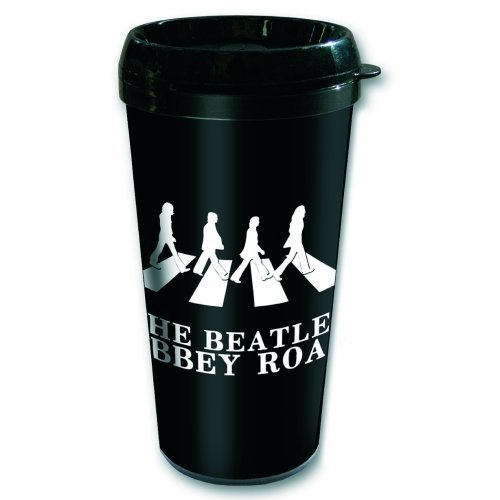 The Beatles Abbey Road Crossing Official Plastic Travel Mug