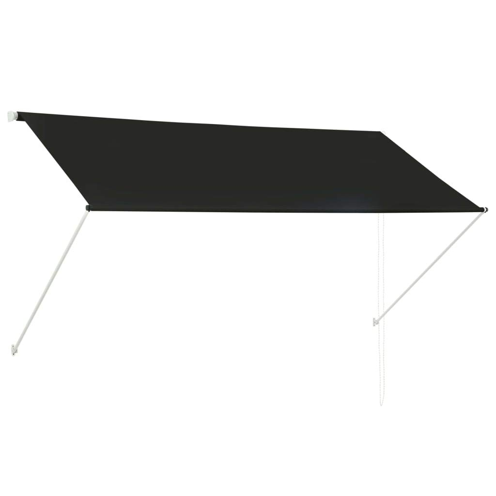 a prezzi accessibili Festnight- Tenda Tenda Tenda da Sole Retrattile, Tenda Laterale Riavvolgibile Antracite 250x150 cm  vendita online