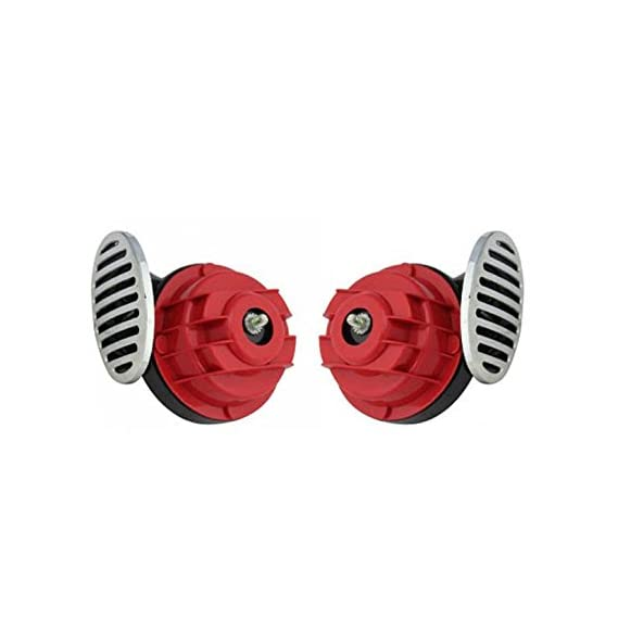 A2D Heavy Sound Super Type R Bike Horn-Set of 2 for Hero HF Deluxe