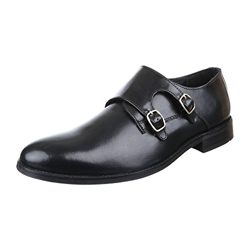 discount low price cheap sale for nice Ital-Design Men's Lace-Up Flats Black YTSFc