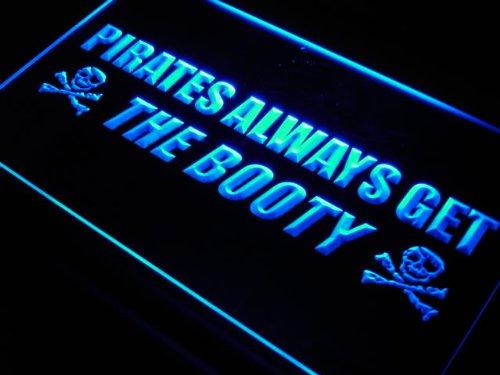 ADVPRO Cartel Luminoso j643-b Pirates Alway Get The Booty ...