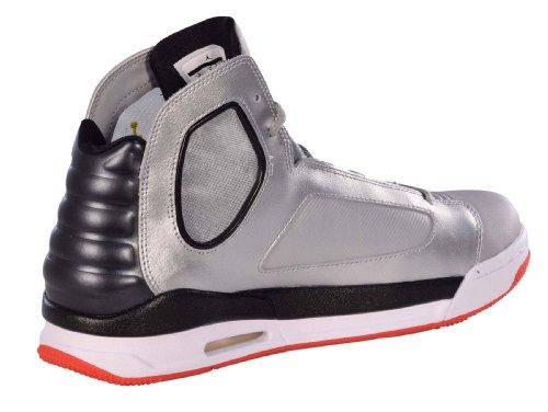 Nike Mens Jordan Flight Luminary Basketball Shoes-black / Bright Citrus-white-10