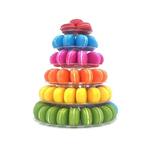 Candora 6-layer macaron display stand cake stand macaron tower wedding display -