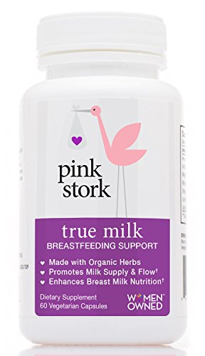 Cheap Pink Stork True Milk: Organic Lactation and Breastfeeding Support -Increase Breastmilk Supply & Flow -Enhances & Enriches Breastmilk Nutrition -Helps Gassy Babies -Organic & Drug Free -60 Capsules