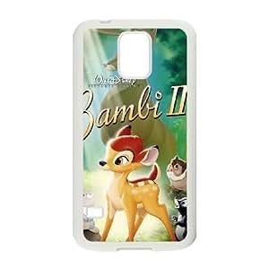 Samsung Galaxy S5 Cell Phone Case White Disney Bambi II Character The Groundhog 002 KI5866048