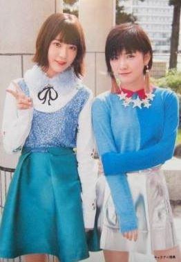 AKB48 公式生写真 ハイテンション キャラアニ 店舗特典生写真 【宮脇咲良、岡田奈々】