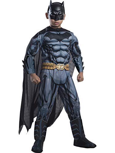 Rubie's Costume DC Superheroes Batman Child Deluxe Costume, Small -