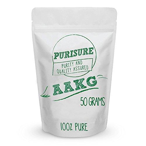 L-Arginine Alpha-Ketoglutarate (AAKG) Powder 250g (100 Servings) | Energy Booster | Improves Strength | Boosts Nitric Oxide