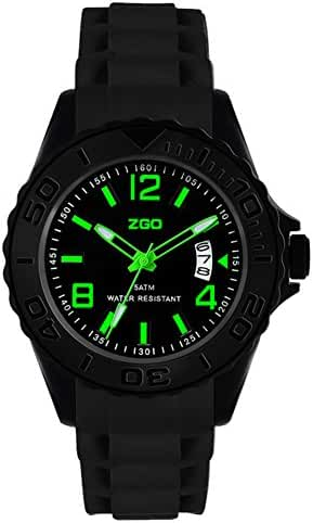 Korean adolescents luminous waterproof sport quartz watch-D
