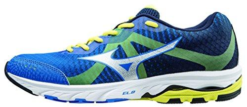 Mizuno - Mizuno Wave Elevation Scarpe Running Uomo Blu Tela 141712 Azul