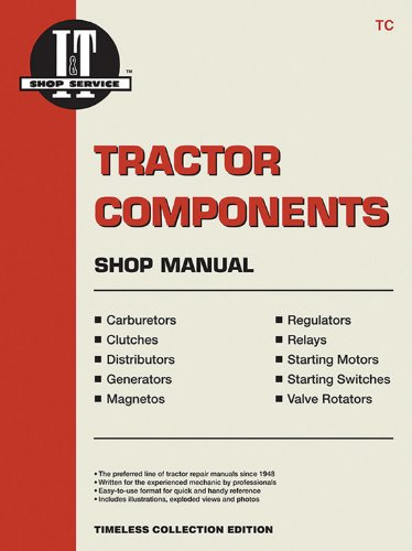 Tractor Components Shop Manual