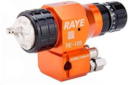 CHENTAOCS RE-105スプレーガンハイ霧化ノズルラインの自動スプレーガンペイント (Color : Orange)