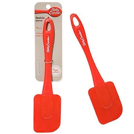 taras gifts kitchen utensils betty crocker red silicone spatulas 9 - Taras Kitchen