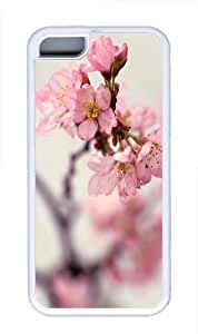 Blossom Twigs Custom iPhone 5C Case Cover TPU White