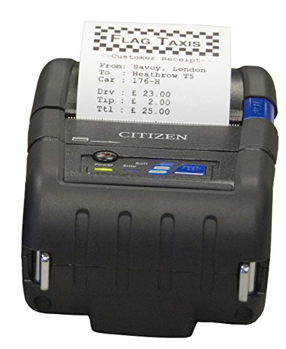 Citizen Receipt Portable Printers - Citizen America CMP-20BTIU CMP-20 Series Portable Mobile Receipt Printer, 2