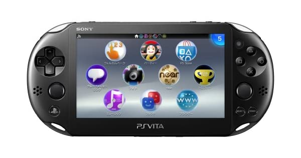 PS Vita Slim - Black - Wi-fi (PCH-2000 ZA11): Amazon.es ...