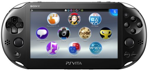 PlayStation Vita Wi-Fi Black PCH-2000ZA11(Japan Import)