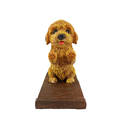 Mochiglory Puppy Dog Cell Phone Stands Smartphone Desk Holder Dog Cell Phone Holder