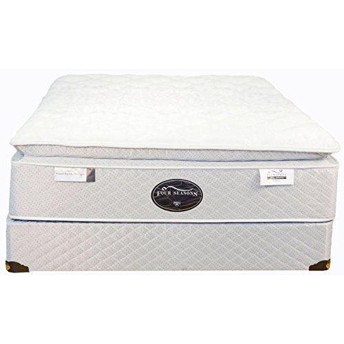 Twin Spring Air Back Supporter Four Seasons Athena Firm Pillowtop Mattress