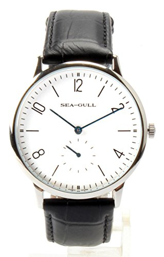 Seagull Ultra Thin 8mm Hand Wind Men Watch D819.612 Independent Second Hand