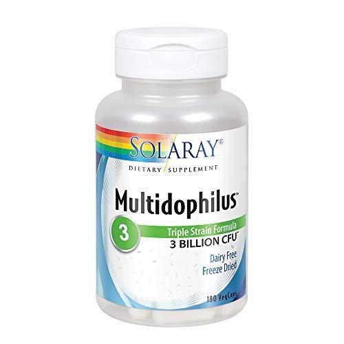 Solaray Multidophilus Supplement, 180 Count