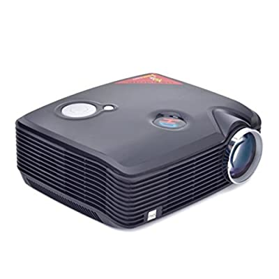 Wensltd 800*600 2500 Lumens LED Projector LCD HDMI USB For Home Theater