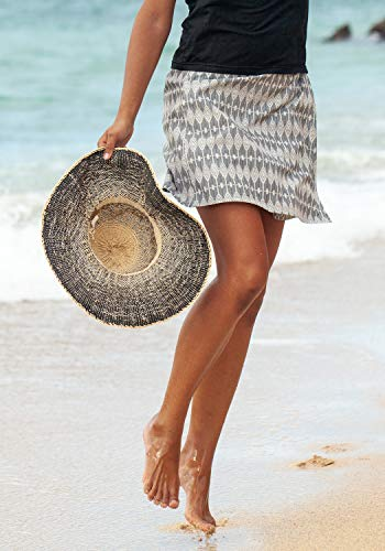 RipSkirt Hawaii - Length 2 - Quick Wrap Cover-up That Multitasks as The Perfect Travel/Summer Skirt ()